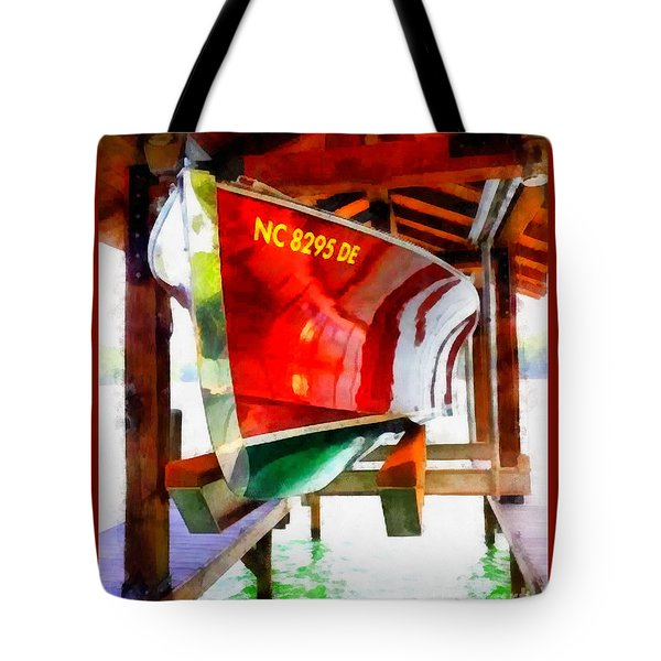 Tote Bag featuring the painting Washed And Waxed by Elizabeth Coats