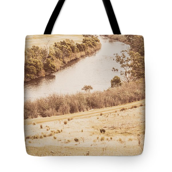 Washes Of Rustic Country Tote Bag