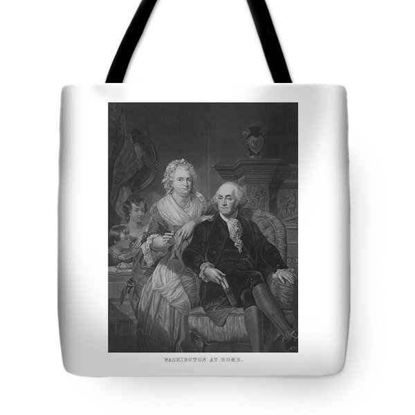 Washington At Home Tote Bag by War Is Hell Store