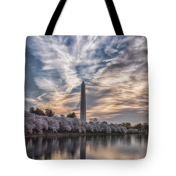 Washington Blossom Sunrise Tote Bag
