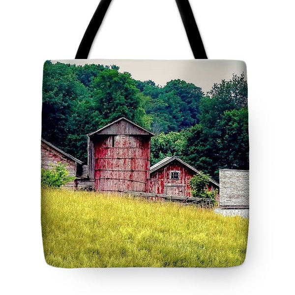 Tote Bag featuring the photograph Washington County Vignette by Kendall McKernon