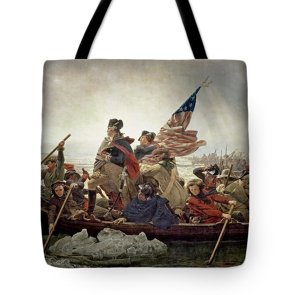 Washington Crossing The Delaware River Tote Bag