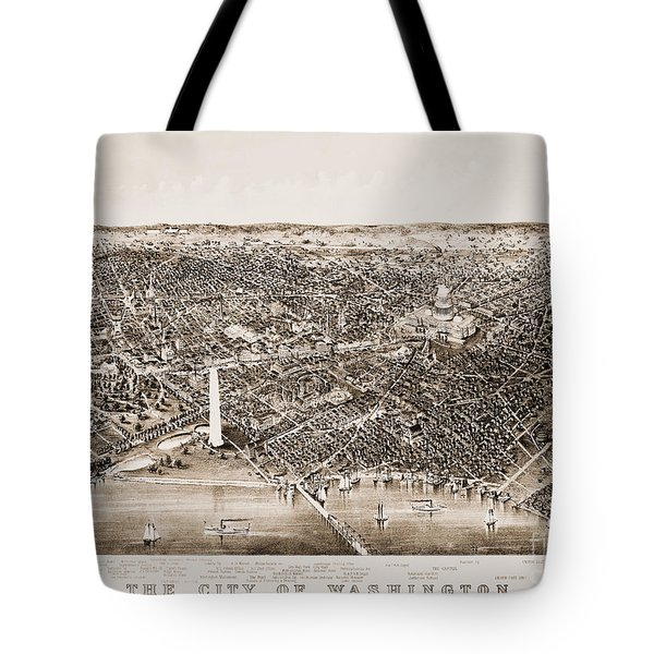 Washington D.c., 1892 Tote Bag by Granger