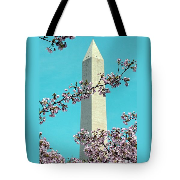 Washington D.c. In Springtime 2 Tote Bag