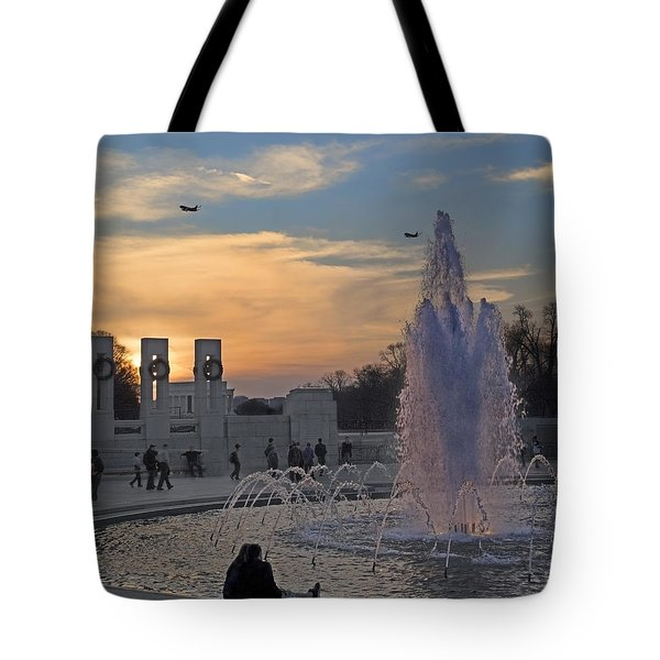 Washington Dc Rhythms  Tote Bag