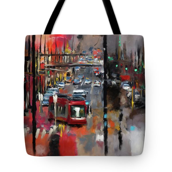 Washington I 471 1 Tote Bag by Mawra Tahreem