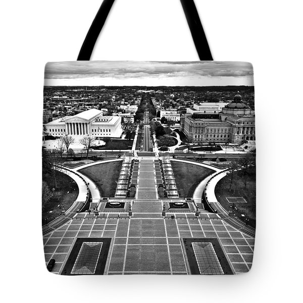 Washington Tote Bag by Mitch Cat
