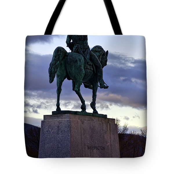 Washington Monument At West Point Tote Bag