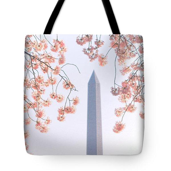 Washington Monument Spring Celebration  Tote Bag