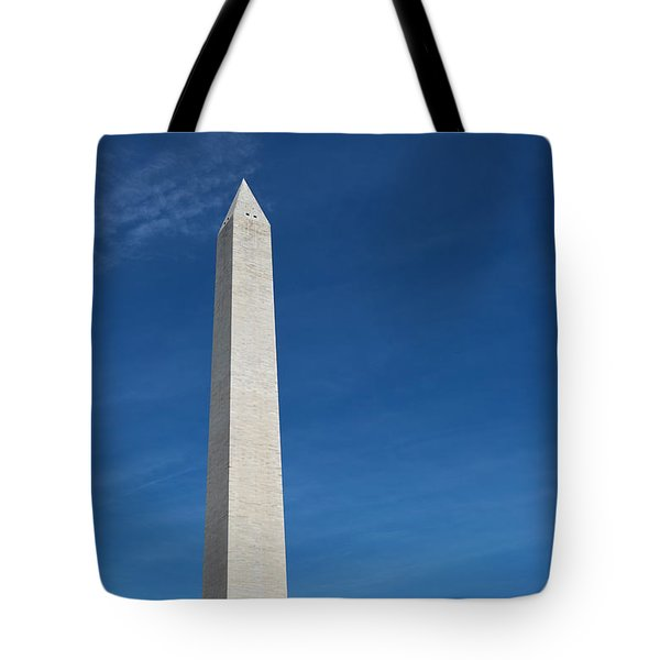 Tote Bag featuring the photograph Washington Monument by Steven Frame