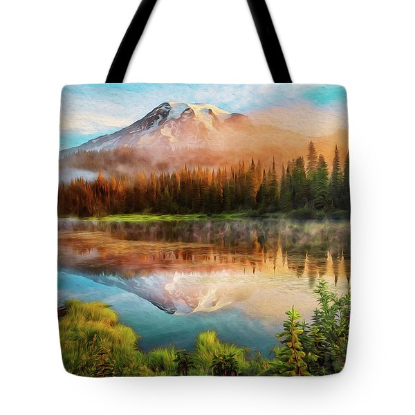 Washington, Mt Rainier National Park - 04 Tote Bag