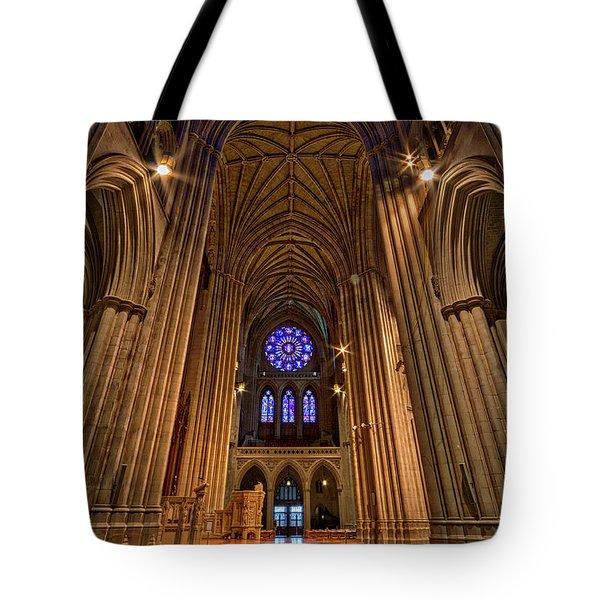 Washington National Cathedral Crossing Tote Bag
