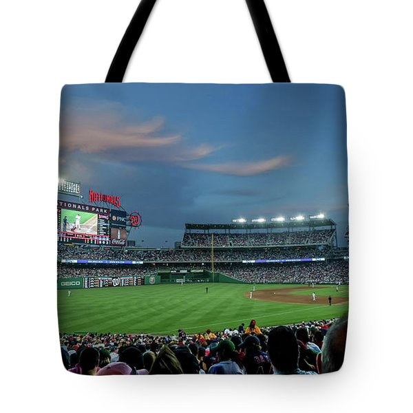 Washington Nationals In Our Nations Capitol Tote Bag
