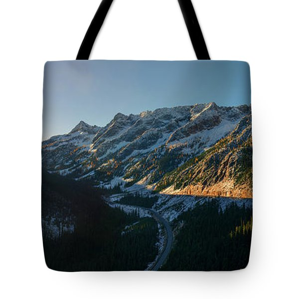 Washington Pass Rising Tote Bag