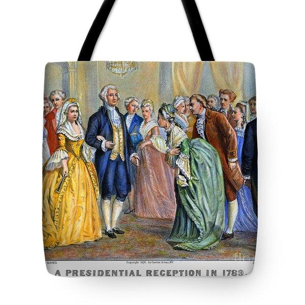 Washington Reception, 1789 Tote Bag by Granger