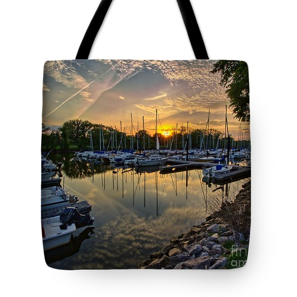 Washington Sailing Marina Tote Bag