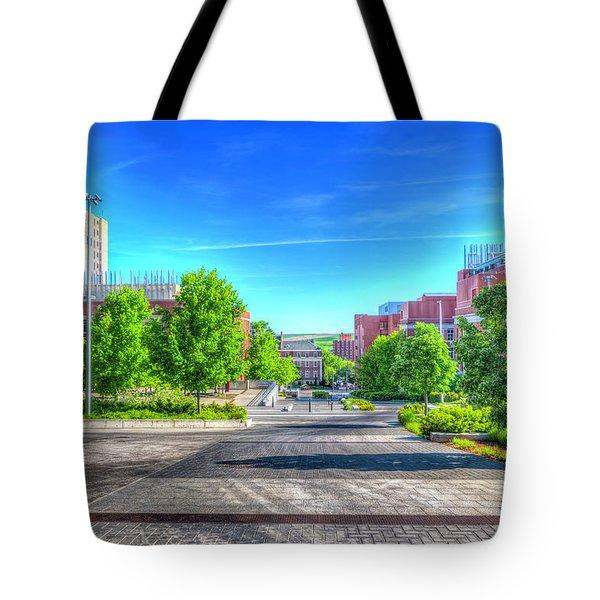 Washington State University Tote Bag by Spencer McDonald