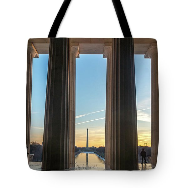 Washington Through Lincoln Tote Bag