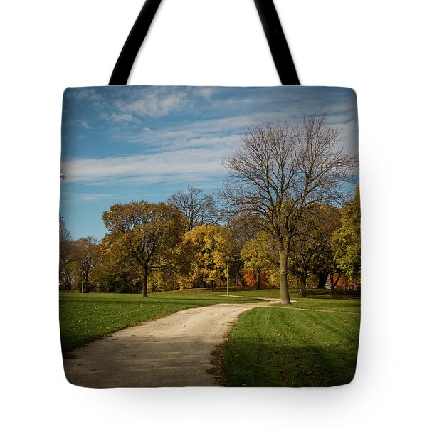 Tote Bag featuring the photograph Washington Walkway by Kimberly Mackowski