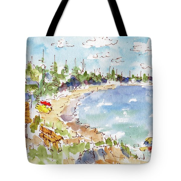 Waskesiu Summer Tote Bag