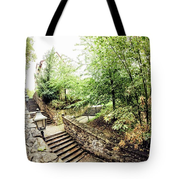 Wassertreppe Tote Bag