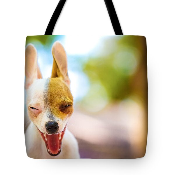 Tote Bag featuring the photograph Wassup? by TC Morgan