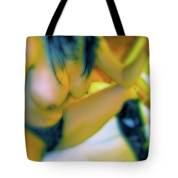 Tote Bag featuring the painting Wasted Play by Iconic Images Art Gallery David Pucciarelli