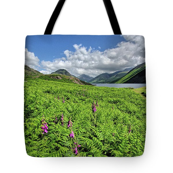 Wastwater Foxgloves Tote Bag