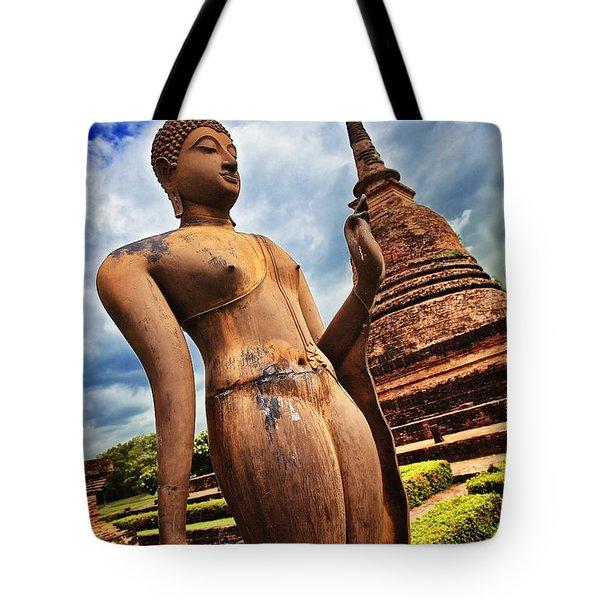 Wat Sra Sri In Sukhothai Thailand Southeast Asia Tote Bag