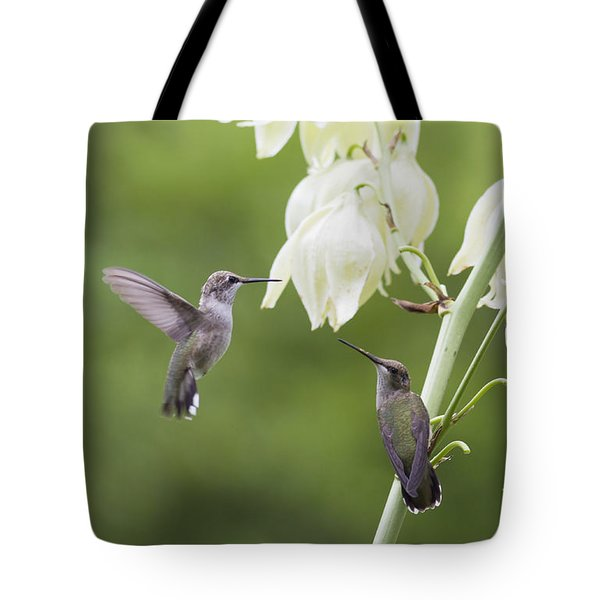 Watch And Learn Tote Bag