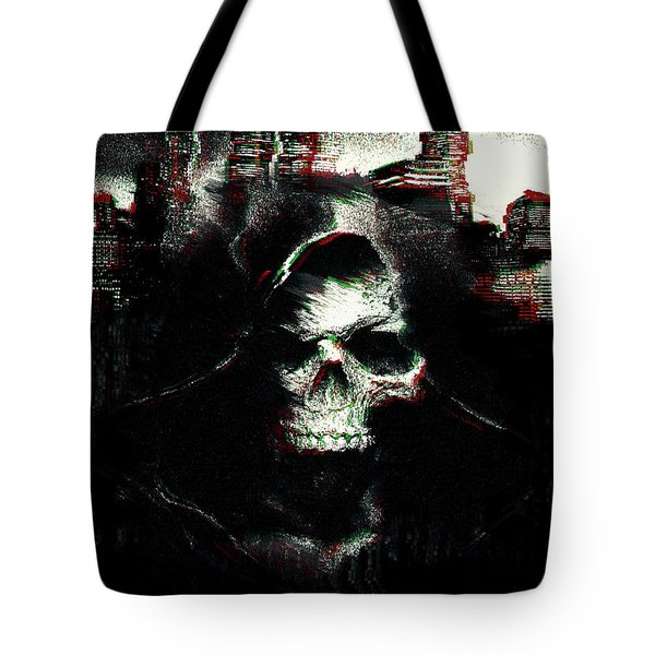Tote Bag featuring the digital art Watch Dogs 2 by IamLoudness Studio