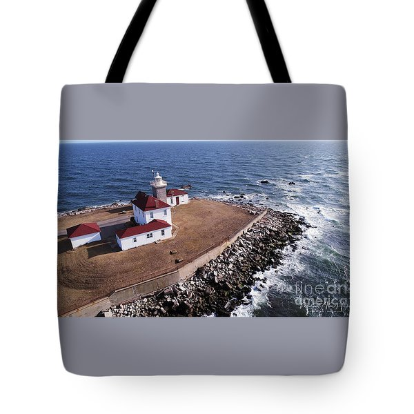 Watch Hill Lighhouse Tote Bag