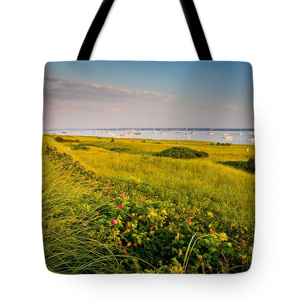 Watch Hill Sunrise Tote Bag by Susan Cole Kelly
