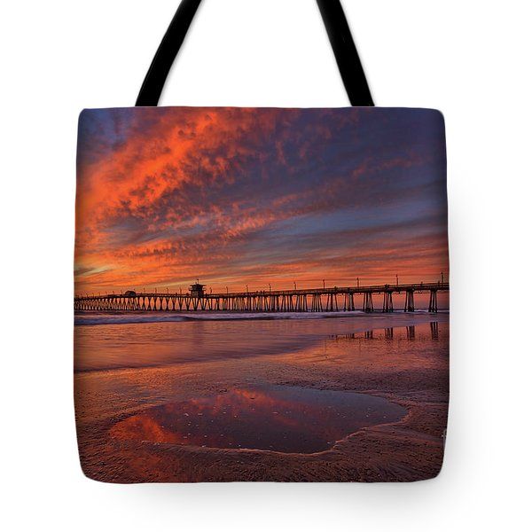 Watch More Sunsets Than Netflix Tote Bag
