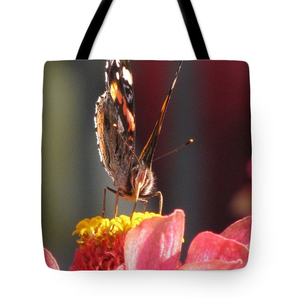 Watch My Back Tote Bag