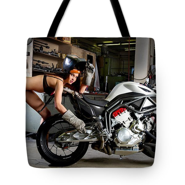Watch Out For The Sparks Tote Bag