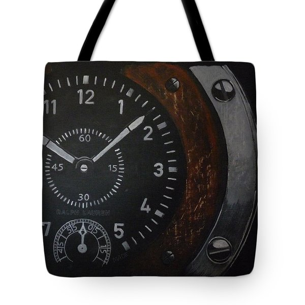 Tote Bag featuring the painting Watch by Richard Le Page