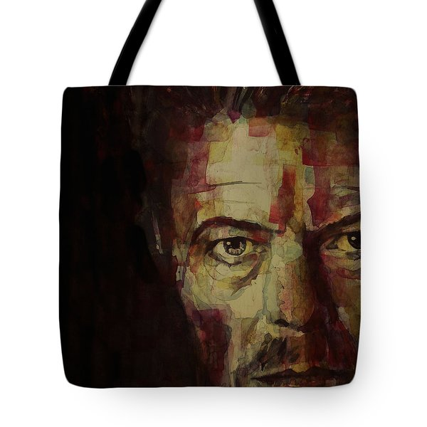 Watch That Man Bowie Tote Bag