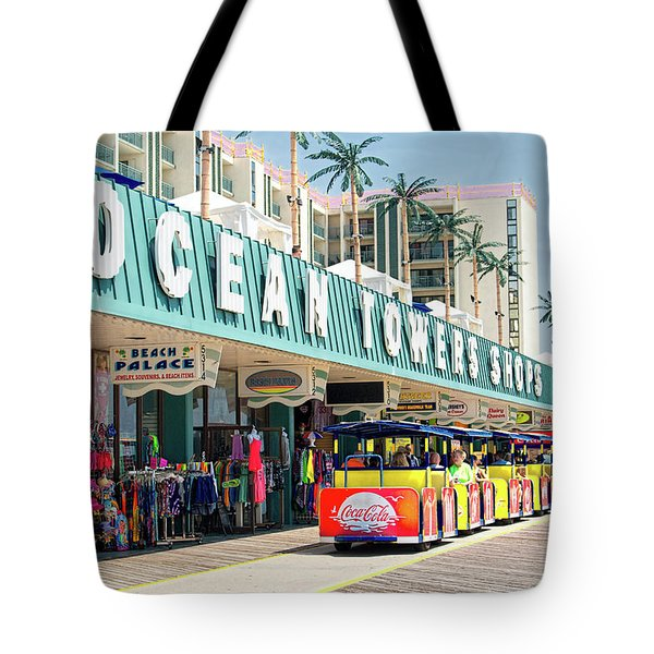 Watch The Tram Car - Wildwood, Nj Tote Bag