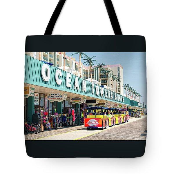 Watch The Tram Car - Wildwood, Nj Tote Bag
