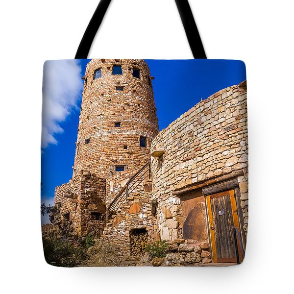 Tote Bag featuring the photograph Watch Tower by Jerry Cahill