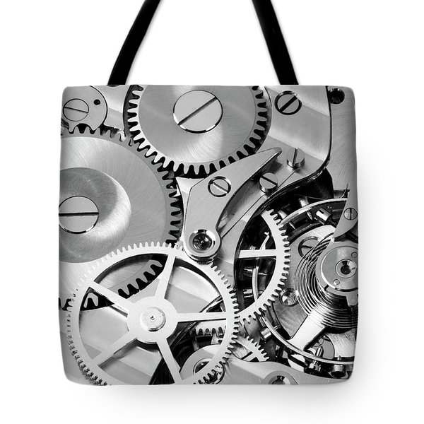 Watch Works Tote Bag