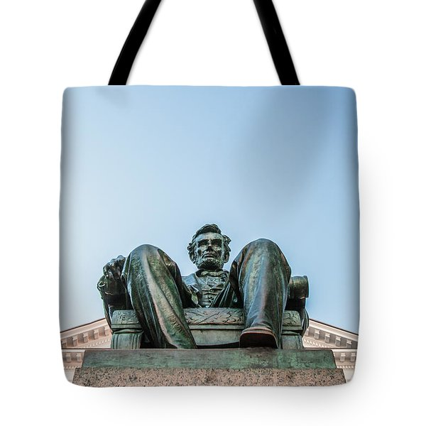 Watchful Abe Tote Bag