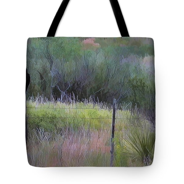 Watchful Eye Tote Bag by John Rivera