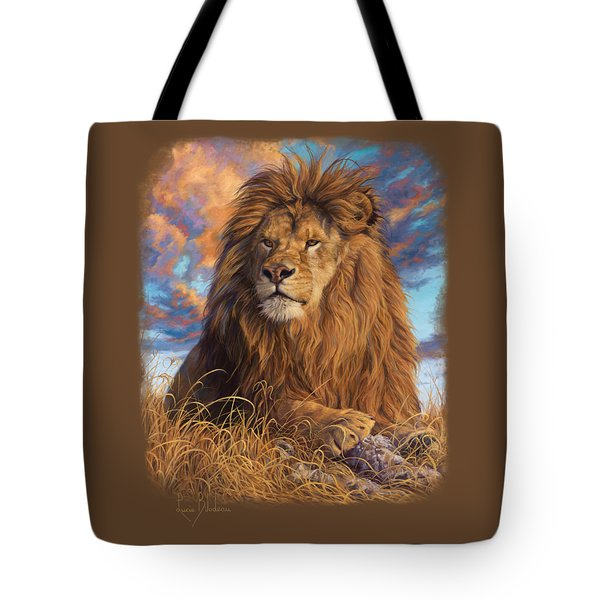 Watchful Eyes Tote Bag by Lucie Bilodeau