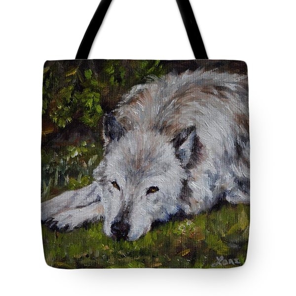 Watchful Rest Tote Bag by Lori Brackett
