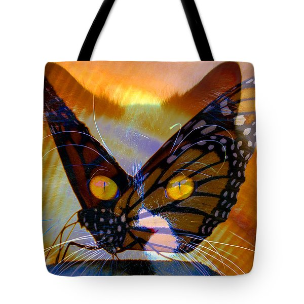 Tote Bag featuring the photograph Watching Butterlies by David Lee Thompson