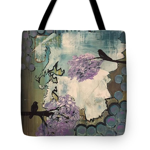 Watching For Spring Tote Bag