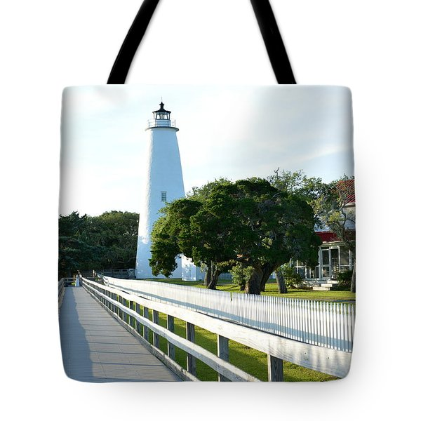Watching Over Ocracoke Tote Bag