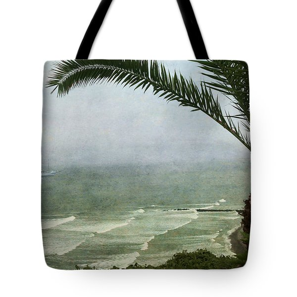 Watching The Boats Come In Tote Bag
